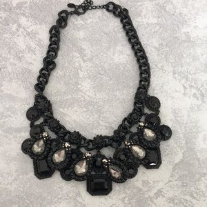 Black Oversized Necklace